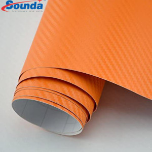 PVC Carbon Fiber For Bus Body Decoration With Best Selling Price
