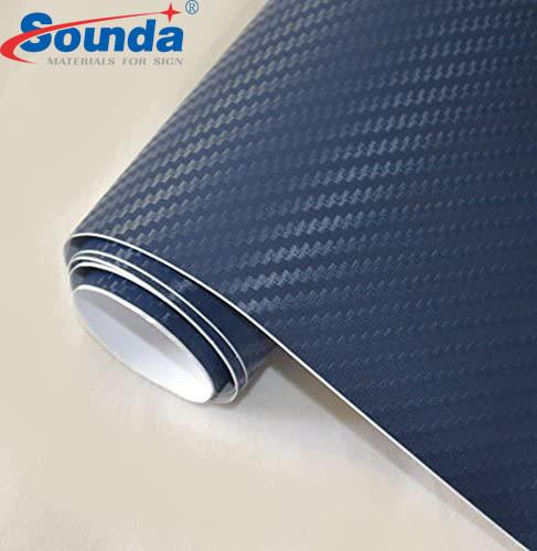 Carbon fiber car wrap sticker flex vinyl, car vinyl wrap
