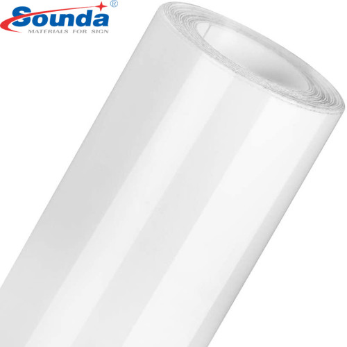 80 Micron/120g Car Sticker Self-Adhesive Vinyl for Eco Solvent Printing