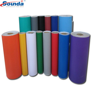 Printable Anti-Extension and Ink Absorbing Color car wrap vinyl