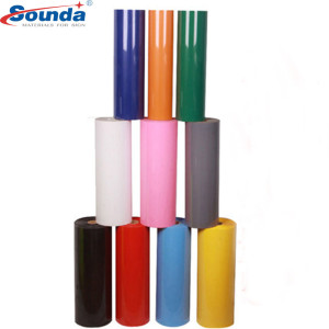 Hot Sale PVC Color Self Adhesive Vinyl and  car wrap vinyl from Sounda