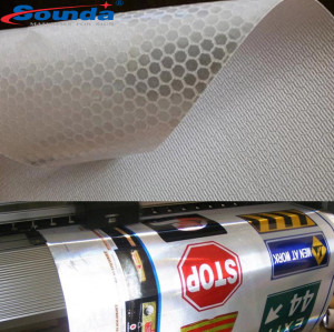 Durable Life Outdoor Advertising Material Reflective Banner for Digital Display Printing