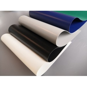 PVC coated laminated tent tarpaulin fabric for tent, roof, truck with free sample