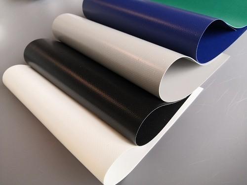 PVC Coated Fire Retardant Tarpaulin, Double Coated Waterproof Fabric