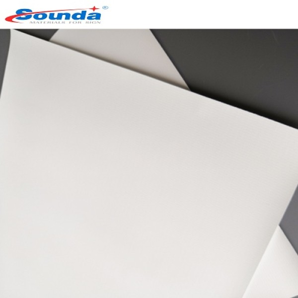 Sounda high quality 440gsm frontlit pvc flex banner, outdoor flex printing media