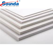 Sound decorative floor accessories wide pvc foam Board with free sample