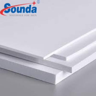 Sounda PVC Foam board for home construction bathroom with free sample