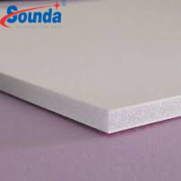Sound High Impact PVC Foam Board OF lead free board with free sample