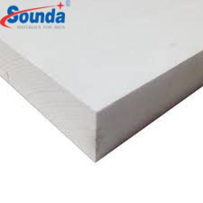 1.22*2.44m uv coated 10mm pvc foamed sheet/board/panel 18mm kitchen 1 inch PVC foam board lowes