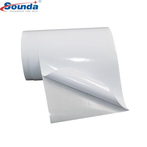 Sounda Top Brand Color Self Adhesive Vinyl Digital Printing vinyl for Cars 100micorn 140g
