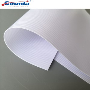 Digital Printing  Laminated backlit PVC Flex Banner with free sample