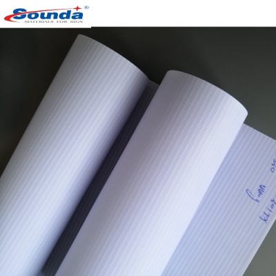 Sounda Top Brand High Quality PVC Backlit Flex Banner 440g with free sample