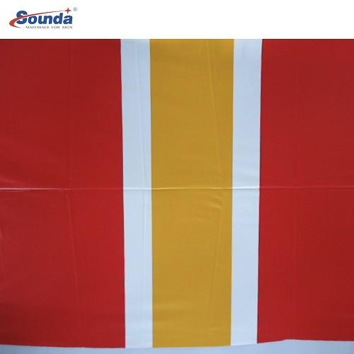 2.5m width matte 650g fire retardant PVC tarpaulin for tent fabric with free sample