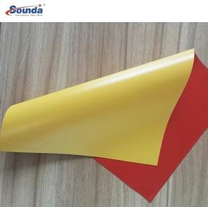 Tarpaulin Cover PVC Coated Fire-Resistant Tarpaulin with free sample