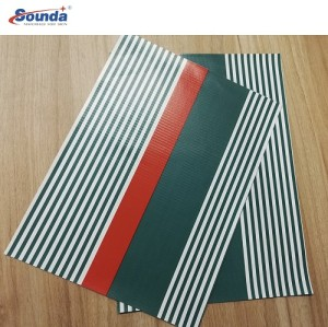 Waterproof Pvc Coated Tarpaulin Cover, Customize 600gsmFish Pond Tank with free sample