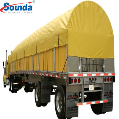 PVC Coated Tarpaulin High Quality With Hard Tube & Kraft Paper Package