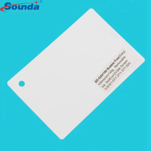 Sounda PVC self adhesive cold lamination film protective vinyl with free sample