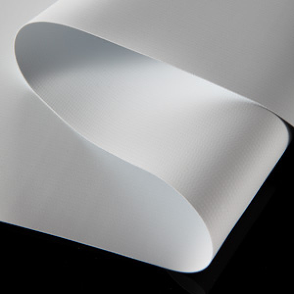 Blockout banner hot laminated flex banner for solvent digital printing with free sample