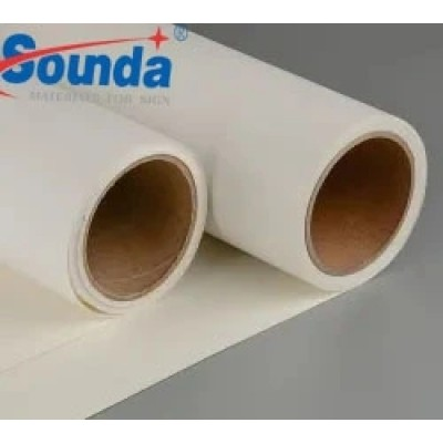Eco-Solvent Matte Polyester Fabric Fire Resistent Waterproof Cotton  Canvas from Sounda