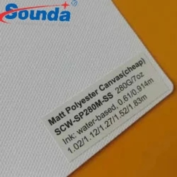 Hans Eco Friendly Waterproof 15oz Cotton Canvas Fabric with free sample