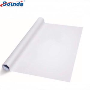 Waterproof Glossy White Self Adhesive Vinyl rolls | PVC Printable Vinyl