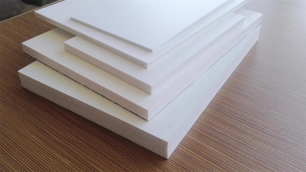 the manufacturing process of PVC foam board