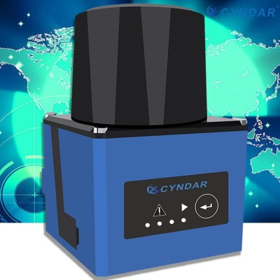 Smallest compact structure safety laser scanner sensor area protection