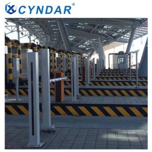 Safety light curtain specially designed for detecting and measuring vehicle separation