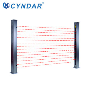 Safety light curtain of separation light curtain sensor for automobile highway toll system