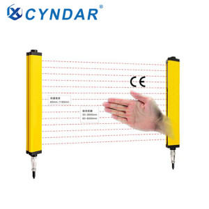 6 m remote protection high security light curtain sensor laser curtain sensor
