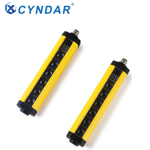 2 Type Industrial safety photoelectric on beam safety light curtain sensor