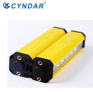 Compact measurement safety curtain sensor safety light barrier for detection