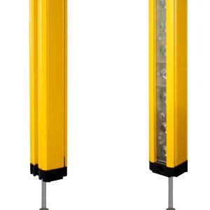 Mini light curtain sensor and measuring light curtain sensor distance 0-5m