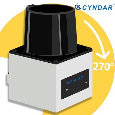 Safety laser scanner used for short-distance mobile robot navigation and positioning