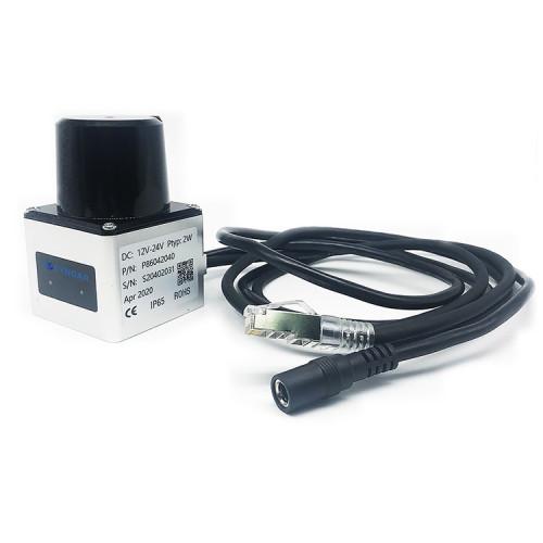 2D safety laser scanner sensor for laser navigation and positioning