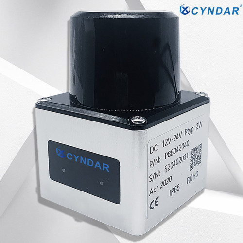 Safety laser scanner sensor used for AGV mobile robot safety and positioning