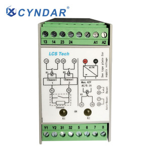 Safety relays used in the power industry can be used to switch on or off voltage.