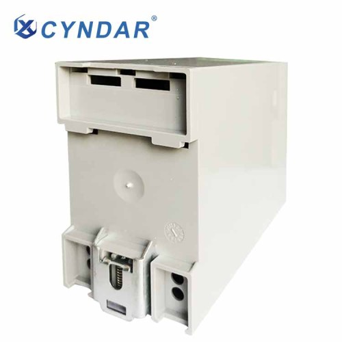 Safety relays are used to control automated low-voltage electrical circuits.
