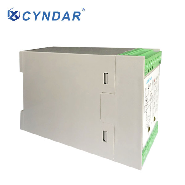 Dangerous machine emergency stop function safety relay.