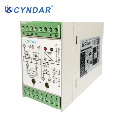 Electricity in the industrial sector can be controlled by safety relays.
