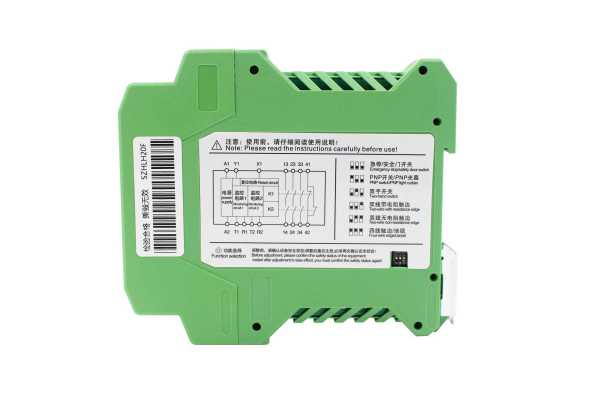 Automatic full-time composition program control available safety relay.