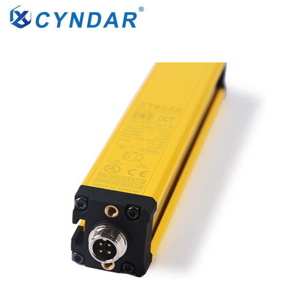 Safety light curtain sensor for machine protection bending machine
