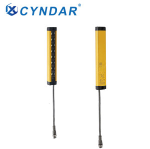Type 2 compact safety light curtain sensor safety light grid for the automotive industry