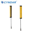 Type 4 compact safety light curtain sensor is used in punch injection molding industry