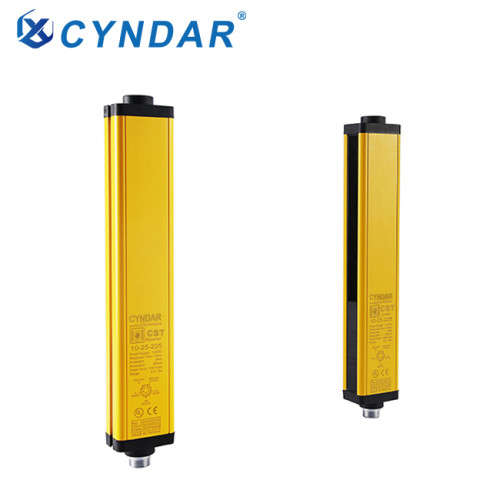 Safety light curtain sensor, safety light curtain sensor used to determine the position