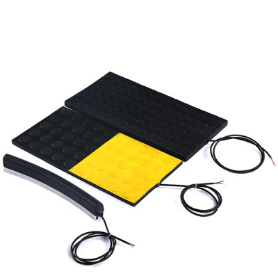 Safety mats can be used as area protection for hazardous areas.