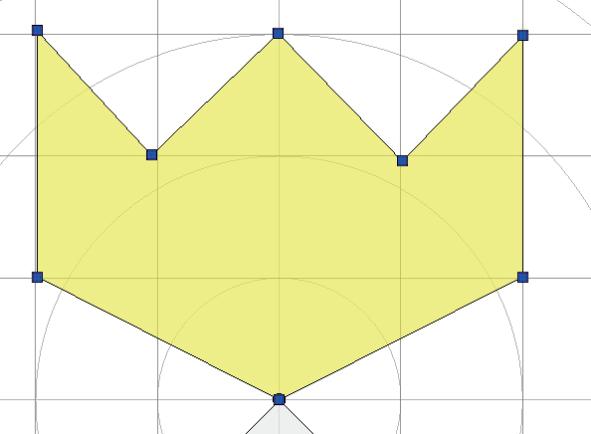 Polygonal area
