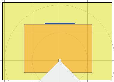 Linear scale area