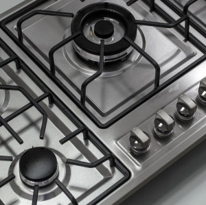 ALK-5809 Built In Stainless Steel Gas Hob Gas Stove Cooking Plate 5 Burner Manufacturer