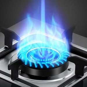 ALK-D7021 2 Burner Tempered Glass built-in Gas Hob Gas Stove Cooking Plate